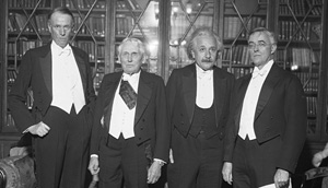 Вручение Нобелевской премии, 1921 год