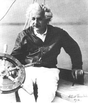 Увлечения Эйнштейна: яхты и скрипка