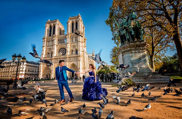 Главный праздник любви в столице мира романтики