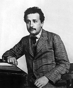 Эйнштейн в патентном бюро (1905 г.)