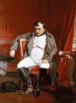 Наполеон Бонапарт после отречения от пристола
