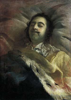 """""""Пётр I на смертном одре"""" - Никитин И. Н."""