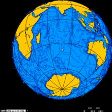 Согласно предположению Теслы, наибольшей интенсивности стоячие волны из Колорадо Спрингс достигали возле острова Амстердам в Индийском океане.