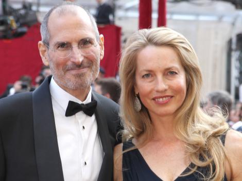 Стив и его жена Лорин