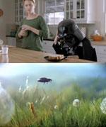 Коммерческий креатив от Volkswagen: The Force и Black Beetle