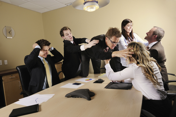 Как не допустить конфликт на работе